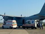 O femeie bolnavă de Covid-19, care era transferată în Ungaria, a murit. Ambulanţa a fost întoarsă din drum