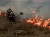 Incendiu dezastruos în Dâmbovița. Pompierii au rămas fără autospecială pe drum