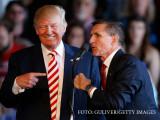 Donald Trump si MIchael Flynn in campania electorala