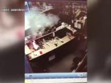 Momentul în care acumulatorul unui smartphone explodează