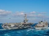 """Portavion american și bombardiere B-52 în Golful Persic. Trump: """"Erau foarte ameninţători"""""""