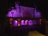 Cazinoul din Constanţa, înfrumuseţat cu lumini colorate. Renovarea nu a început