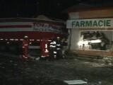 Un TIR a intrat într-o farmacie din Prahova. Ce făcea şoferul în loc să conducă