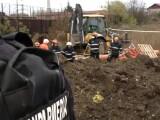 Muncitor prins sub un mal de pământ, scos la suprafață decapitat. Caz șocant în Brașov