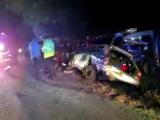 Trei persoane au fost rănite în urma unui accident. Patru autoturisme, avariate
