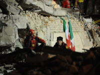 Italia zguduita de un nou cutremur!