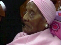 Cea mai batrana femeie din lume si-a serbat cea de-a 115-a aniversare