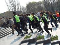 Studentii basarabeni protesteaza miercuri la Timisoara