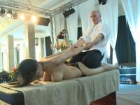 Cum sa scapi de kilogramele in plus? Prin masaj si acupunctura!