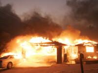 4 case din cartierul Bucurestii Noi din Capitala, ravasite de un incendiu