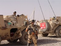 Militar roman ranit in Afganistan, dupa ce o bomba artizanala a explodat
