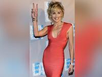 Sharon Stone nu iese din casa nemachiata! Din respect pentru fani!