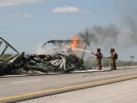 Incendiu la bordul unui iaht in largul coastei Florida