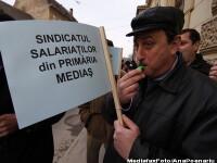 Functionarii publici ies in strada. Miting in aprilie, greve in mai