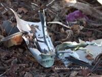 Fragment din avionul prabusit la Smolensk prins la podoabele unei icoane