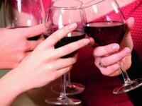 Silueta se mentine cu doua pahare de alcool pe zi!