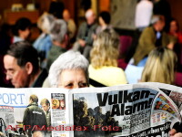 OMS: Cenusa vulcanica, un real pericol pentru cei cu probleme pulmonare