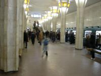 IMAGINI de la metroul din Belarus chiar inainte de atentatul de marti