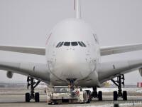 VIDEO. Ciocnire pe aeroportul JFK. Un Airbus A380 matura un CRJ 700