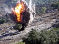Ploaie mortala. Rebelii acuza ca Ghaddafi foloseste bombe cu submunitie