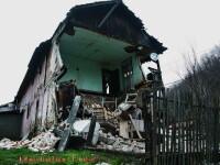 Dezastru intr-un bloc social din Baia Mare. S-a prabusit acoperisul