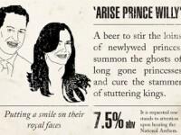 Berea care contine Viagra, creata special pentru nunta printului William