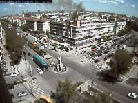 Un incendiu puternic a mistuit un supermarket din Calarasi. VIDEO