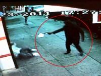 Executie in stil mafiot, in New York, surprinsa de camerele video