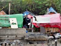 Sute de romi s-au mutat intr-un cartier din Berlin si au format un nou sat