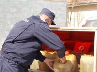 Depozitele de carburanti, calcate de hoti. Jandarmii au prins un aradean cu 600 de litri in canistre