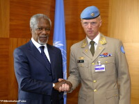 Reprezentantul ONU si al Ligii Arabe, Kofi Annan: