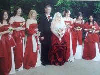 Secretul ascuns de poza de nunta. Nimeni nu si-a dat seama ce se intampla cu cei doi miri