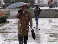 Atentionare METEO: cod galben de ploi si NINSORI in noaptea de Florii