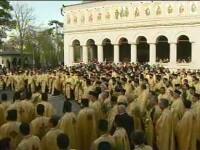 Momente impresionante in Capitala, la procesiunea anuala din ajun de Florii
