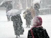Avertizarea de cod galben de ninsori si ploi, prelungita pana luni pentru Bucuresti si 29 de judete