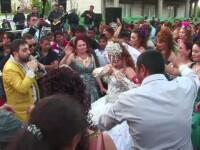 Nunta de tigani in Caracal. Jandarmii, chemati sa deblocheze strada. Invitatii: