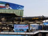 Sarbatoare in Teheran. Parada fortelor militare pentru celebrarea Zilei Nationale a Armatei Iranului