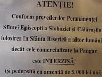 Un mesaj dintr-o biserica romaneasca starneste furia comunitatilor de pe Facebook. Iata imaginea