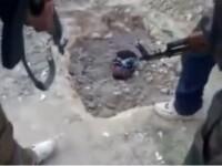 Un barbat isi liciteaza fiul pentru a-l trimite sa fie terorist sinucigas in Siria. VIDEO socant