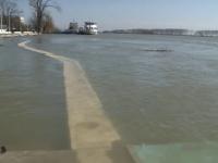 Codul portocaliu de inundatii pe Dunare, prelungit pana pe 17 aprilie. Autoritatile, in alerta