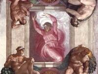 FOTO. Mesajul secret ascuns de Michelangelo intr-o fresca din Capela Sixtina