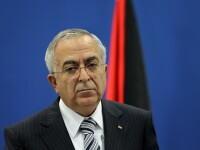 Premierul palestinian Salam Fayyad a fost spitalizat
