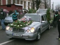 Andrei Dragomir, cantaretul de hip-hop ucis pe trecerea de pietoni, inmormantat pe muzica lui