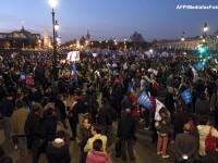 Incidente violente la Paris dupa o manifestatie impotriva mariajului homosexual. VIDEO si FOTO