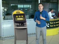 Noul sistem cu touch-screen impotriva taxiurilor cu suprataxa de la aeroport. Cum vei chema o masina
