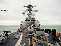 Raspunsul Occidentului la situatia din Ucraina. O nava militara americana si una franceza se afla in Marea Neagra