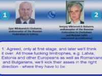 Conversatie intre diplomati rusi: \