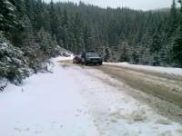 A nins la munte. Pe crestele masivilor, temperaturile au coborat sub zero grade