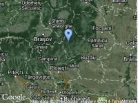Cutremur cu magnitudinea de 3,9 in zona Vrancea