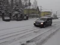 Zapada mieilor a pus stapanire pe zona de munte. Reactia oamenilor, care s-au trezit de la +17 la zero grade Celsius